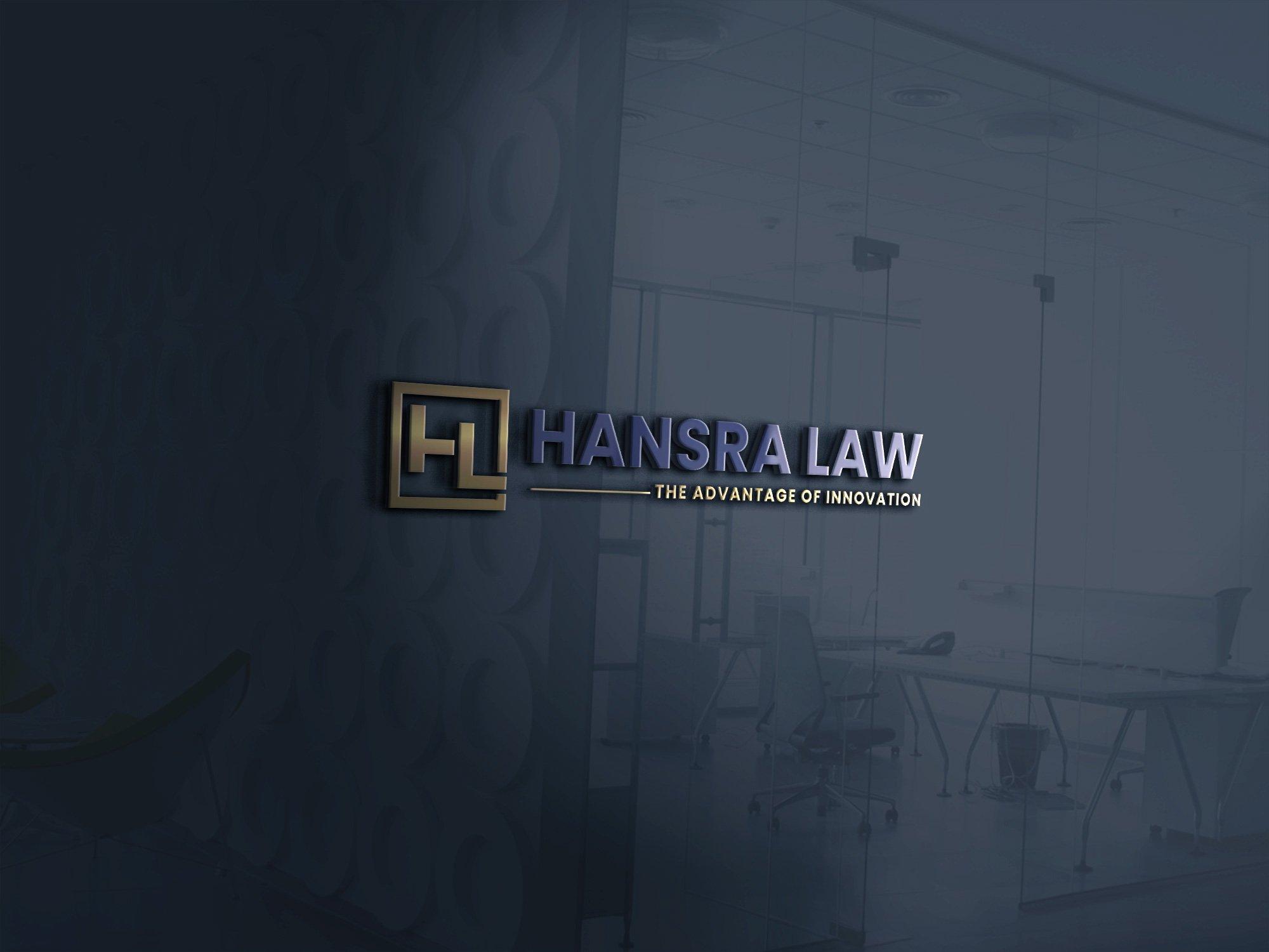 Hansra Law business lawyer Toronto name plate